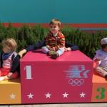 Les Mini-Trotteurs au Musée Olympique