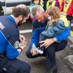 Visite de la gendarmerie
